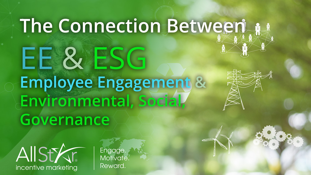 EE & ESG – The Connection Between Employee Engagement & Environmental, Social & Corporate Governance
